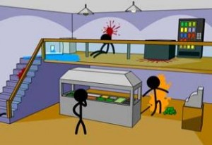 3 spin-off series from the game's huge success including Counter-Stick (picture) which has the stickmen fighting back by effecting the cursor.
