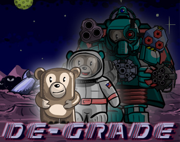 Degrade - The top down shooter that DEgrades you instead of upgrading